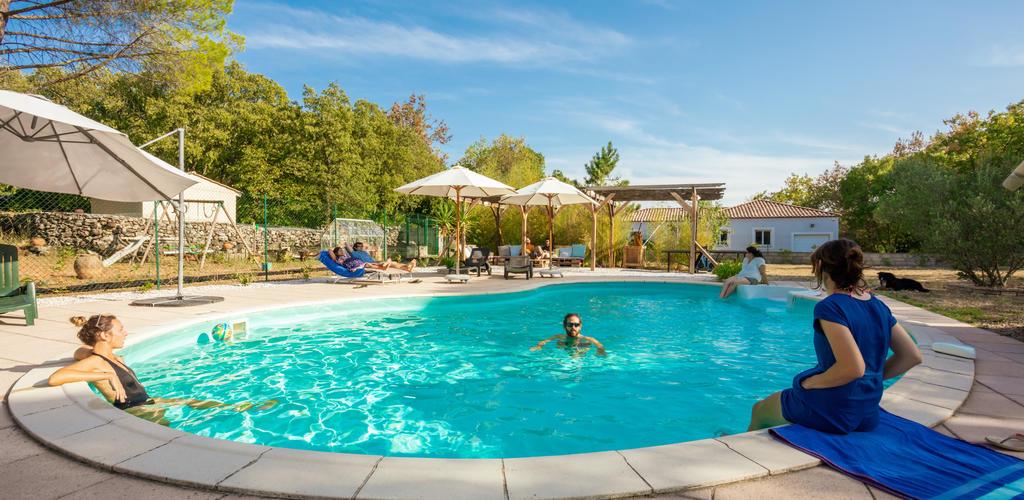 La piscine Hervé Leclair, société Aspheries