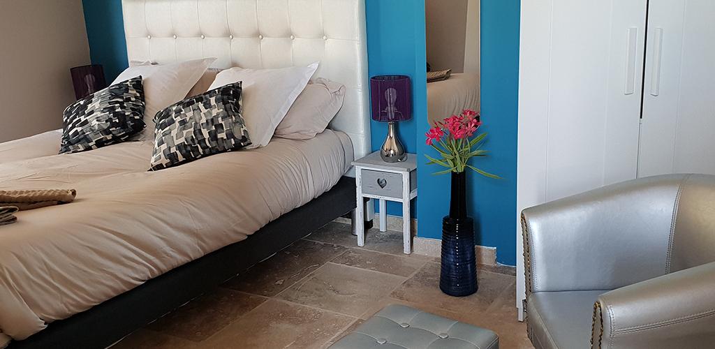 Chambres d'hôtes Villa Alyzea à Bessan - Chambre Pic Poul 2019-Villa Alyzea