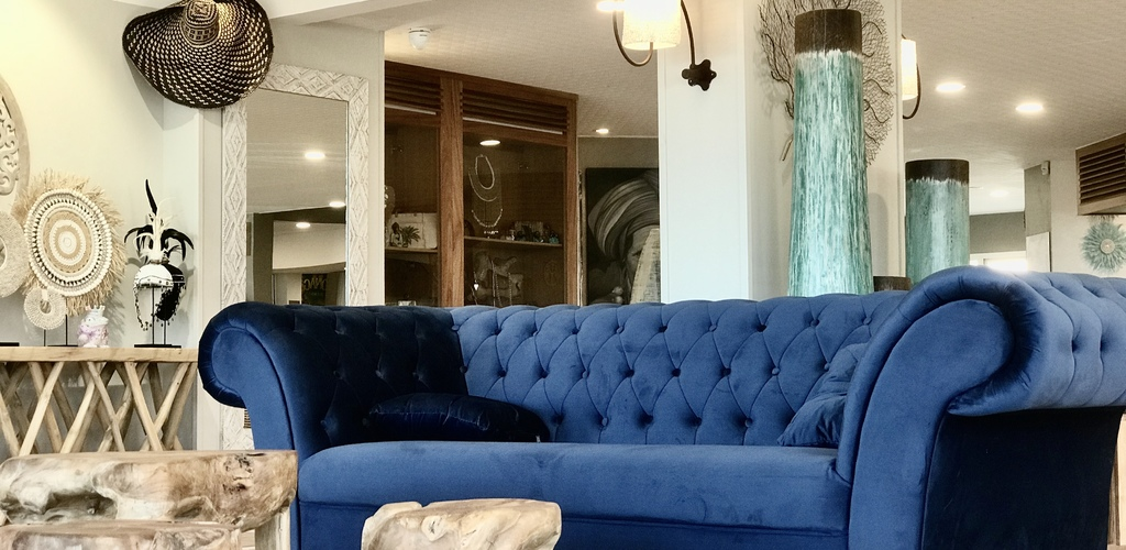 Capao Beach Hôtel au Cap d'Agde - Hall Sonia Rozum