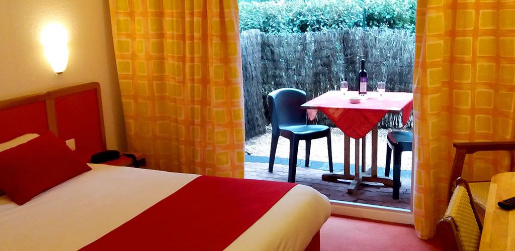 Hôtel Tennis International ** au Cap d'Agde - Chambre rez-de-chaussée Hôtel Tennis International - Cap d'Agde