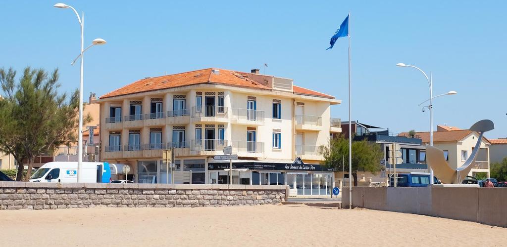 depuis-la-plage Hotel de la Mer