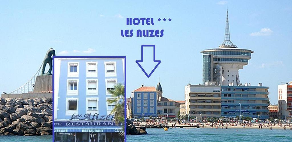 situation Hotel les Alizés et restaurant ''Sur la braise''