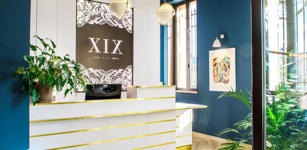 Front Desk - Hôtel XIX © Créativo