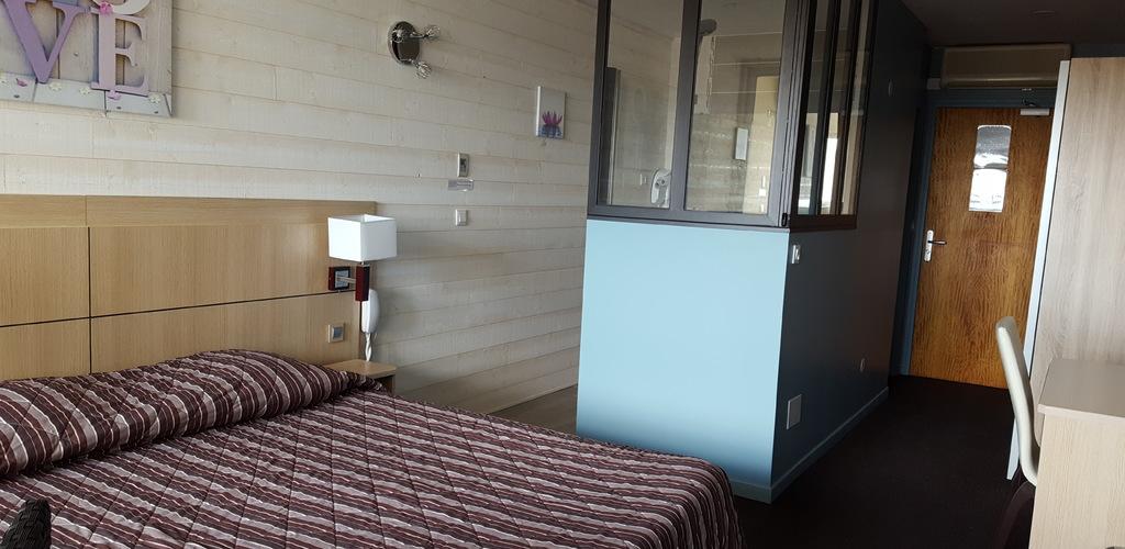 Hôtel La Grande Conque*** au Cap d'Agde - Chambre double côté Fort Brescou 2019-Hôtel La Grande Conque
