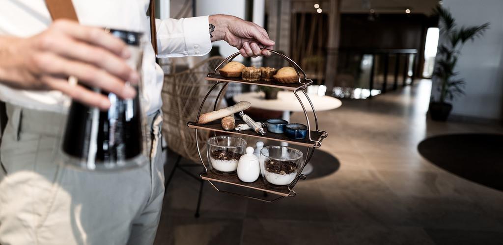 Petit déjeuner Tea Time du Golden Tulip Stéphane Bucco