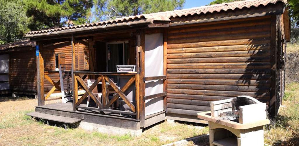 Camping Castelsec *** à Pézenas - Location chalet bois 2019-Camping Castelsec - OT Cap d'Agde Méditerranée