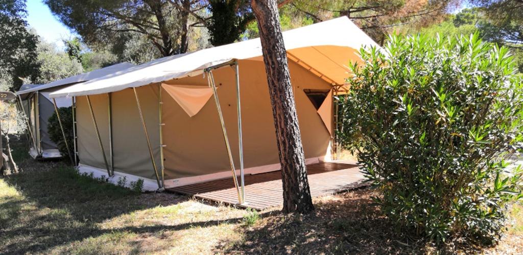 Camping Castelsec *** à Pézenas - Location tente 2019 - Camping Castelsec - OT Cap d'Agde Méditerranée