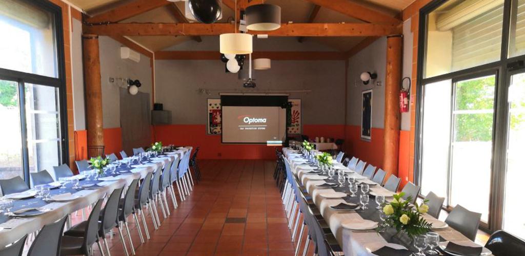 Camping Castelsec *** à Pézenas - Salle de réception 2019-Camping Castelsec - OT Cap d'Agde Méditerranée