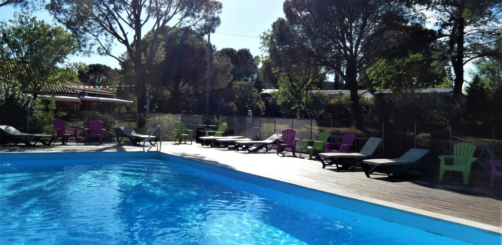 piscine camping les Terrasses
