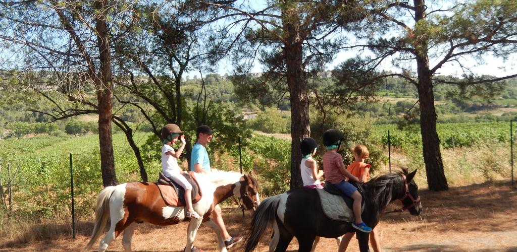 Balade en poney camping les Terrasses