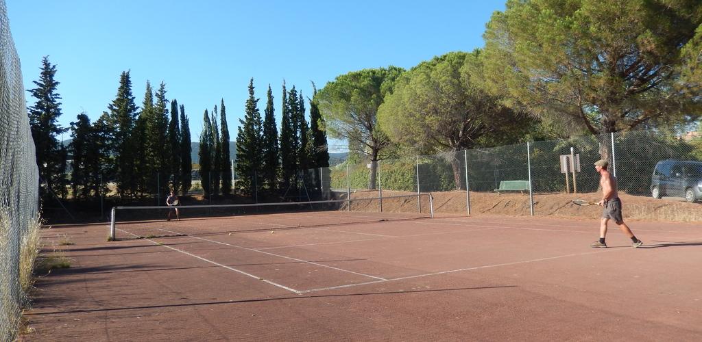 tennis camping les Terrasses