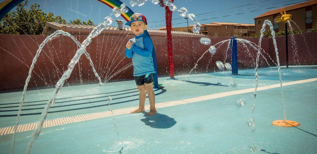 Camping Le Mas de la Plage 4 étoiles à Vias-Plage - Jeux d'eaux pour enfants 2017 - Hervé Leclair_Asphéries - Sud de France Développement