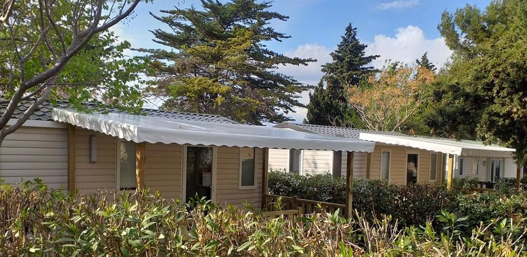 Camping Les Roches d'Agde*** à Agde - Mobil-home 2020-Camping Les Roches d'Agde