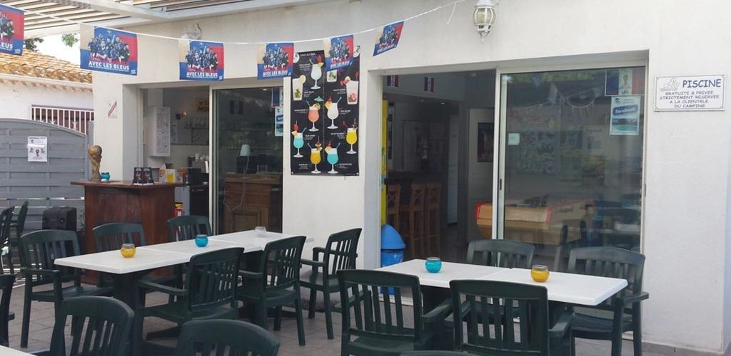 Camping Les Roches d'Agde*** à Agde - Snack-bar 2020-Camping Les Roches d'Agde