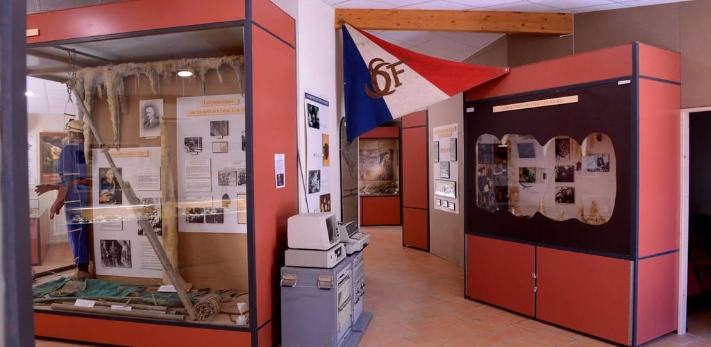 Fileuse de verre-Espace muséographique1©2018-Palais de la Fileuse de Verre-OTMSPC ©2018-Palais de la Fileuse de Verre