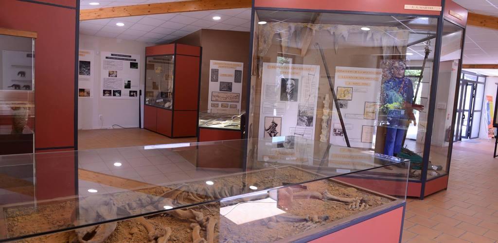 Fileuse de verre-Espace muséographique©2018-Palais de la Fileuse de Verre-OTMSPC ©2018-Palais de la Fileuse de Verre
