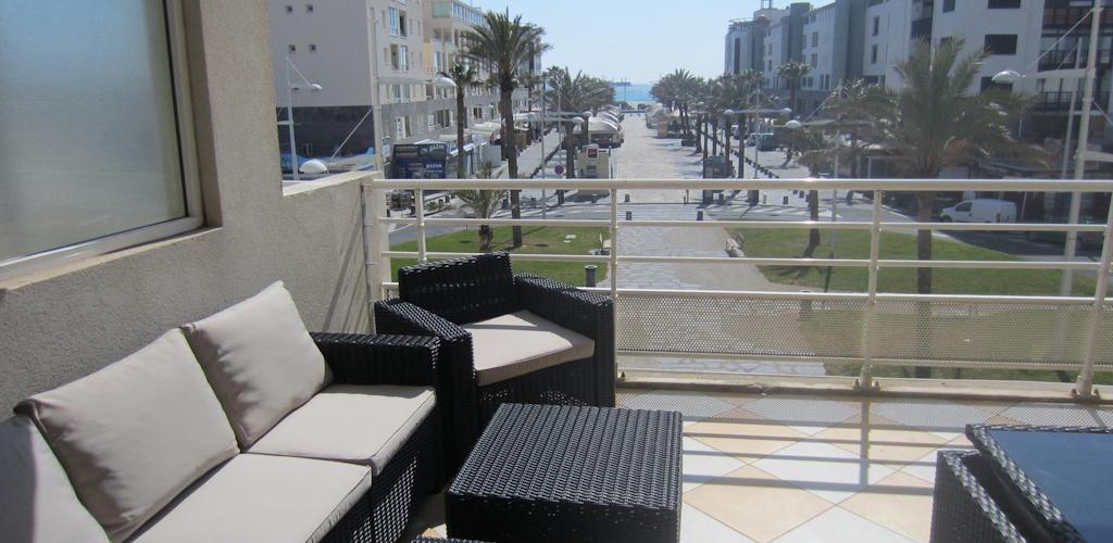 Résidence Arena au Cap d'Agde - Terrasse Azura Agency