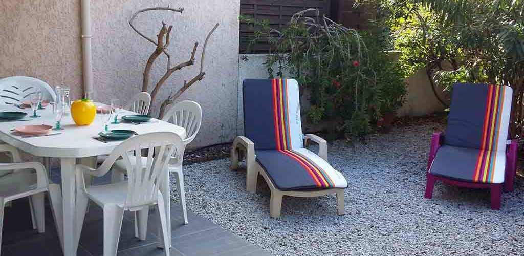 Résidence Les Toscanes au Cap d'Agde - Terrasse 2019-Azura Agency