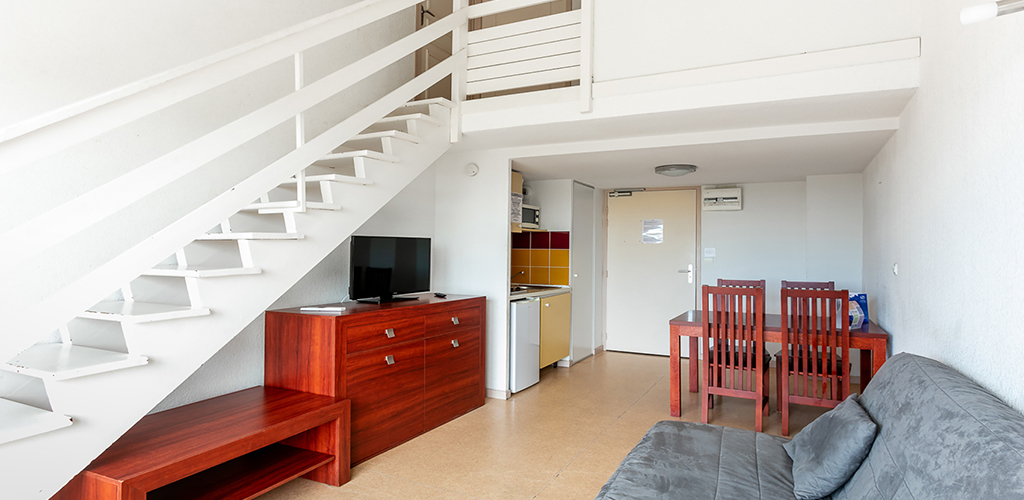 Résidence Vacancéole Le Saint Clair ** au Cap d'Agde - Duplex 2019-Vacancéole