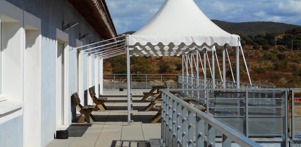 Terrasse Réception1 Park and suites