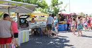 LOCAL PRODUCERS MARKET IN VIAS-PLAGE