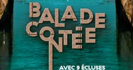 BALADE CONTÉE AVEC 9 ÉCLUSES BIEN COMPTÉES