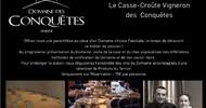 CASSE-CROÛTE VIGNERON AU DOMAINE DES CONQUÊTES