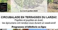 INÉDIT : LA # CIRCUBALADE EN TERRASSES DU LARZAC