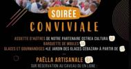 SOIRÉE CONVIVIALE