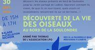 DÉCOUVERTE DE LA VIE DES OISEAUX AU BORD DE LA SOULONDRE