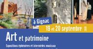 JOURNÉES EUROPÉENNES DU PATRIMOINE À GIGNAC