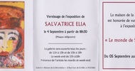 "EXHIBITION ""LE MONDE DE SALVATRICE"""