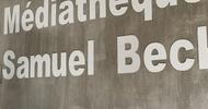 VERNISSAGE DE L'EXPOSITION LE LION DE JUDAH - HUGUES LABIANO - MEDIATHEQUE SAMUEL BECKETT