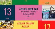 LES ATELIERS DE LA MJC - CRÉA SAC