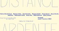 ANNULEE - RENCONTRE-DISCUSSION AVEC LES ARTISTES DE L'EXPOSITION DISTANCE ARDENTE