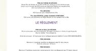 XXXVIIE PRIX DE POÉSIE DE LA VILLE DE BÉZIERS 2021
