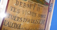 BANNIÈRE DES VIGNERONS DE VALROS-1907