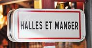 HALLES ET MANGER