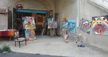 VISITE D'ATELIER DE L'ARTISTE ALFRED