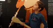 """VISITE AU MUSÉE DE LODÈVE : """"LE PAYSAN AU NÉOLITHIQUE RACONTÉ AUX ENFANTS"""""""