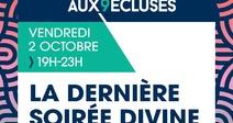 ANNULE - CLOTURE DES SOIRÉES DIVINES - RENDEZ AUX 9 ÉCLUSES
