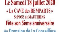 LA CAVE DES REMPARTS FÊTE SON 5ÈME ANNIVERSAIRE