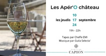 APÉR'O CHÂTEAU À CHÂTEAU CAPION