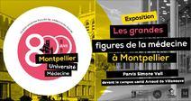 """EXPOSITION """"LES GRANDES FIGURES DE LA MÉDECINE"""""""
