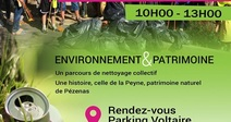 WORLD CLEAN UP DAY 2020 : NETTOYAGE CITOYEN DE LA PEYNE