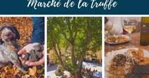 MARCHÉ DE LA TRUFFE A SAINT GUILHEM