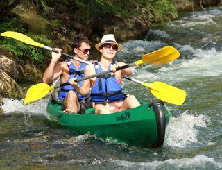 Canoe kayak st guilhem le desert