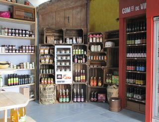 quelques produits du terroir, bière mas dieu village montarnaud