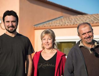 Guillaume, Nadine et Jean-Marie REBOUL Domaine Massillan