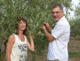 Françoise et Arnaud Lupia domaine lupia